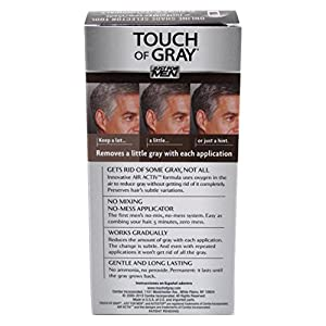 Just For Men Touch Of Gray, Jet Black-Gray (Pack of 3)