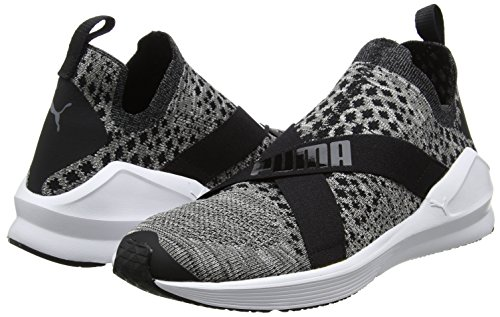 Puma De Noir Femme Evoknit white Fitness Chaussures black Fierce TxwTqrH