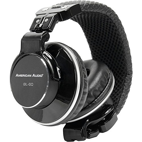 American Audio Hp550 Foldable Professional Headphones White