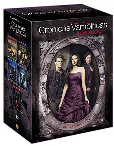 Crónicas Vampíricas - Temporadas 1-5 [DVD]: Amazon.es: Nina Dobrev, Paul Wesley, Ian Somerhalder, Chris Grismer, Nina Dobrev, Paul Wesley, Julie Plec: Cine y Series TV