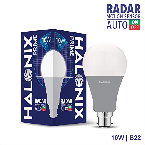 Halonix Radar B22 LED Bulb Radar 10 W (White)