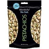 Wonderful Pistachios (No Salt Pistachios, 8 oz. Pack of 1)