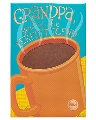 American Greetings Perfect Blend Father's Day Greeting Card for Grandpa with Foil