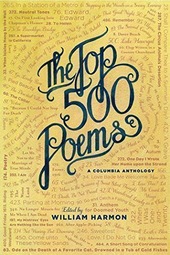 The  Top 500 Poems - Harmon Warehouse