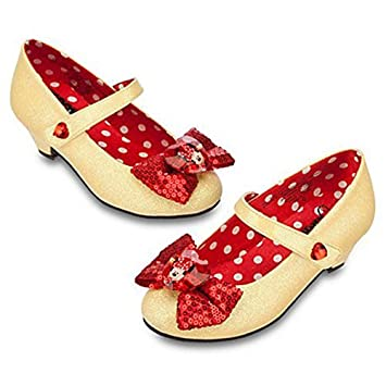 e258b030ef364 Buy Disney Minnie Mouse Costume Shoes For Girls Size  9 10 Online at Low  Prices in India - Amazon.in