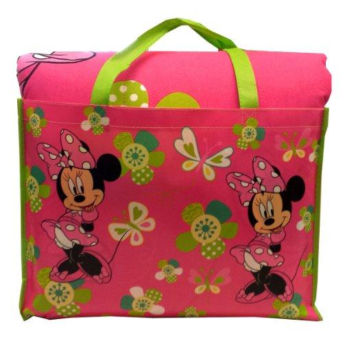 Disney Minnie Mouse 4-Piece Reversible Twin Bedding Set with Bonus Tote - Mouse Comforter Bedding Set