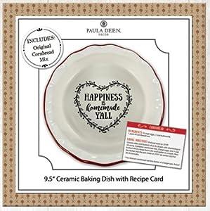 Young's Paula Deen Recipe Ceramic Dish (Original Cornbread MIx)