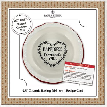 - Young's Paula Deen Recipe Ceramic Dish (Original Cornbread MIx)