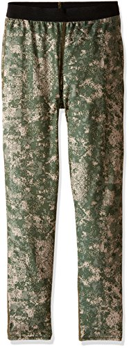 Hot Chillys Youth Pepper Skins Print Bottom, Digital/Desert, Medium (Pants Island Snowboard)