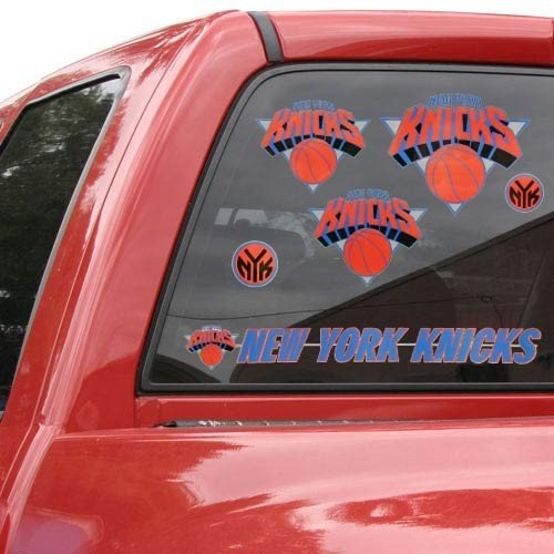 NBA New York Knicks 88443011 Multi Use Decal, 11'' x 17'' by WinCraft