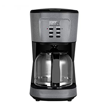 DSKJ Maquina De Cafe Pequeña Máquina De Café Por Goteo Oficina Doméstica Negocio: Amazon.es: Hogar