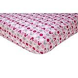 Disney Baby Minnie Mouse Polkadots Crib Bedding (Crib Sheet) by Disney