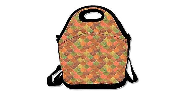 Tumblr de sirena escala almuerzo bolsa bolso fiambrera para la escuela trabajo al aire libre: Amazon.es: Hogar