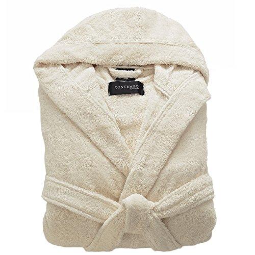 Kassatex CON-148-ECR Contempo Bath Robe