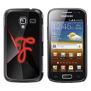 TopCaseStore / la caja del caucho duro de la cubierta de protección de la piel - F - Samsung Galaxy Ace 2 I8160 Ace II X S7560M