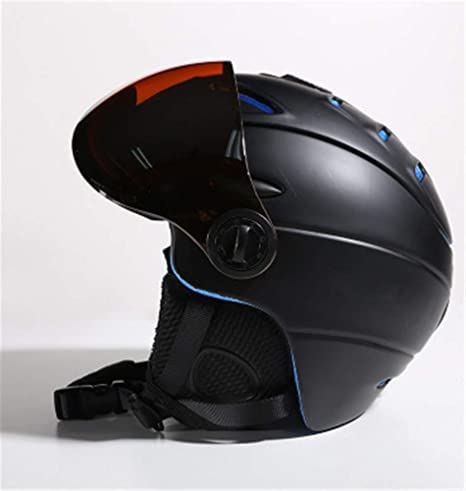 Shenhai Casco Casco de esquí Casco de Seguridad con Gafas de ...