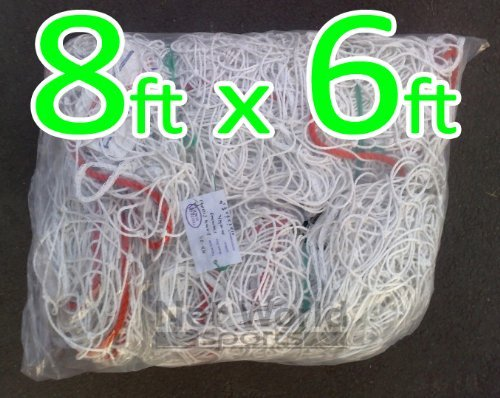 8 ft x 6 ft Soccer Goal Net * * Heavy Duty * * [ Net世界スポーツ] B00EOMAME4 4. Heavy Duty Grade 8 x 6 Net (pair)