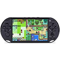 Nano Classic X9 Handheld Game Player 5.0 Inch 8GB Support TV Output with MP3/Movie Camera Handheld Game Console - Black