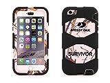 iPhone 6 Plus/6s Plus Rugged Case, Survivor All-Terrain Mossy Oak Pink Breakup