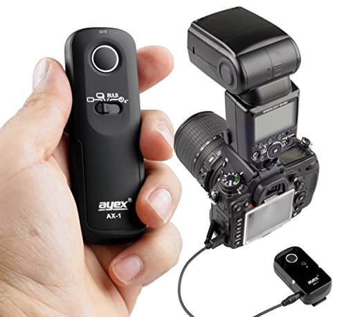 D4 ayex AX-3 Timer-Fernauslöser DC0 für Nikon D810 D3 uvm D4S D800 D5 D700