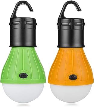 Eletorot Set Carpa Lámpara Camping LED Iluminación de ...