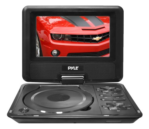 Lcd Tv Sd Card (Pyle Home PDH7 7-Inch Portable TFT/LCD Monitor with Built-In DVD Player MP3/MP4/USB SD Card)