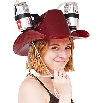 76cac44ffc1 Amazon.com  EZ DRINKER Beer   Soda Guzzler Helmet - Drinking Hat By ...
