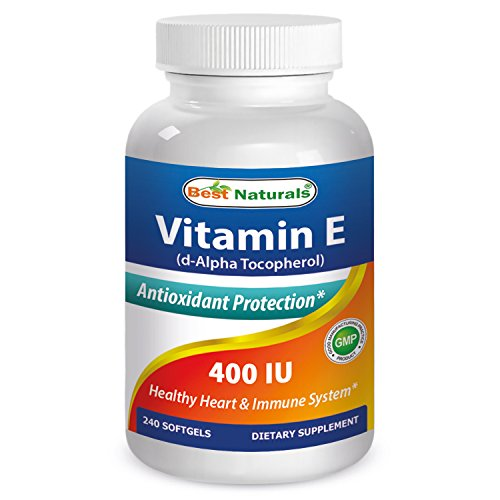 BEST NATURALS Vitamin E 400 Iu 240 SFG, 0.02 Pound