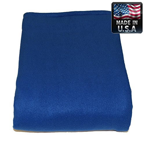 Melissa's Weighted Blankets 21lbs Adult Size Blue Great for Insomnia, Anxiety relief, Autism, Aspergers, SPD, ADHD, and PTSD. Overall stress reliever! Extra Large 80x58'' size by Melissa's Weighted Blankets