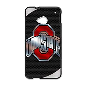 SKULL Ohiostate Fahionable And Popular Back Case Cover For HTC One M7