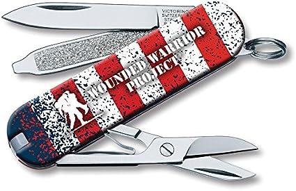 Amazon.com: Victorinox vn55370 Classic bandera americana Wwp ...