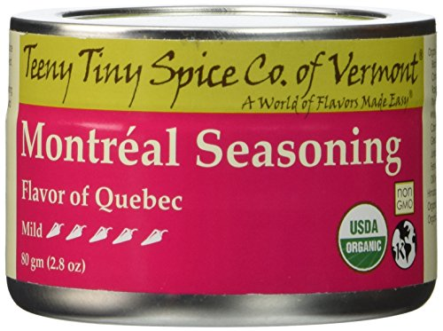 Teeny Tiny Spice Co of Vermont Organic Montréal Seaoning, 2.8 - Montreal Seasoning