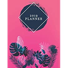 2019 Planner: Watercolor Planner 2019 | Weekly Views with To-Do Lists, Funny Holidays, Inspirational Quotes and More