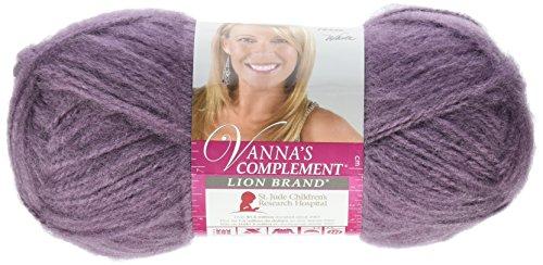 Lion Brand Yarn 866-146 Vanna's Complement Yarn, Dusty Purple ()