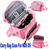 Vktech Travel Bag Carry Case for Nintendo NDS 3ds Ds Lite Dsi with Shoulder Strap