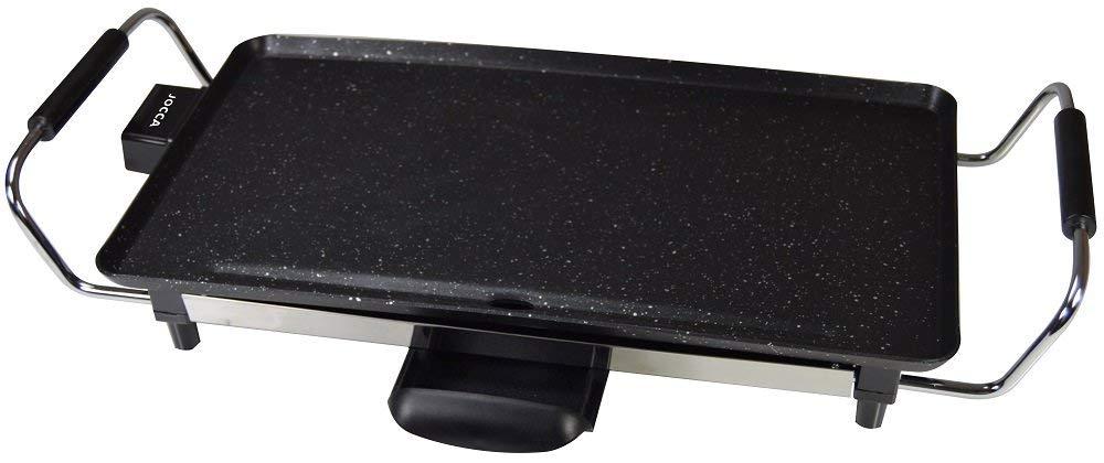 2000 W finitura pietra colore: nero Jocca 5003P-Piastra grill