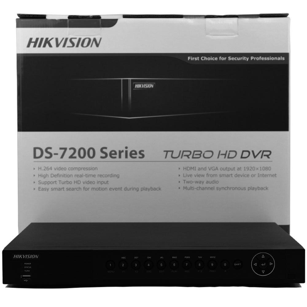Hikvision DS-7204HQHI-SH 日本語対応 4ch+2ch 6ch トリプルハイブリッドDVR H.264  デュアル-ストリーム ビデオ圧縮 同軸ケーブル伝送距離 トリプル ハイブリッド HD-TVI/アナログ/IP カメラをサポートします。 完全な1080P解像度のリアルタイム記録 (リモコンは別途オプション、HDDは含まれません 6TBまでの3.5インチHDDがご利用可能です。) B01I3AVLUQ