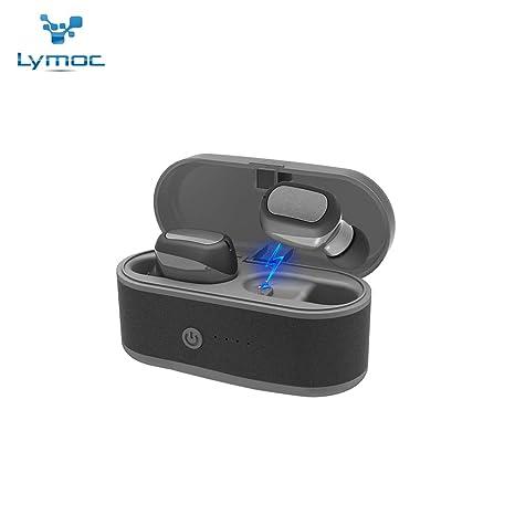 Amazon com: LYMOC T6 Touch Two 5 0 Wireless Earphones TWS