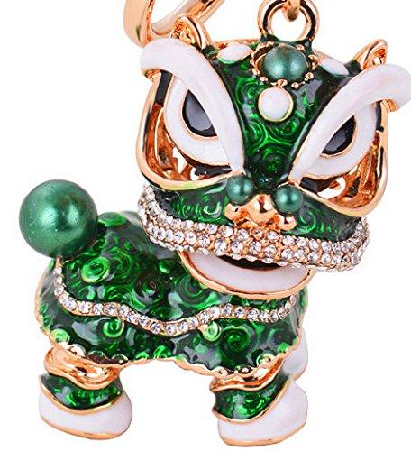 Amazon.com: Lovely chino León Danza colgante para la Navidad ...