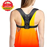 Posture Corrector for Women - Elite Rounded Shoulders Ultimate Comfort Back Corrector Support Brace for Slouching and Hunching - Clavicle Wearable Posture Support for Upper Back