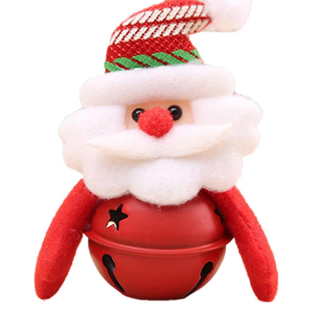 Xmas Decorations Clearance Sale, Libermall Xmas Tree Decoration Small Bell Christmas Ornaments, Perfect for Holiday Christmas Party Indoor Outdoor Holiday Gifts