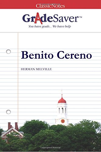 "critical essays on benito cereno Herman melville's ""benito cereno,"" published in 1855, offers a profound look into the political consciousness of the 1850s while most critics regard ""benito cereno"" as a political text mostly for its satirical perspective on america's use of black slaves, melville's story also."