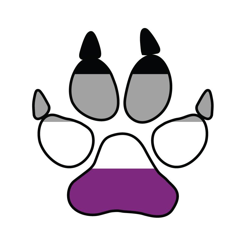 【ギフ_包装】 Asexual Pride犬Pawprint Furry Pride – ビニールデカール屋内または屋外の使用 More、車 B07233BZ5P Inch、ノートパソコン、飾り、Windows、and More 10 Inch AsexDogpawprint10 10 Inch B07233BZ5P, カシマダイマチ:808ca4f8 --- kickit.co.ke