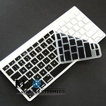 IVEA silicona piel cubierta Protector Para Apple teclado Bluetooth inalámbrico - Negro: Amazon.es: Electrónica