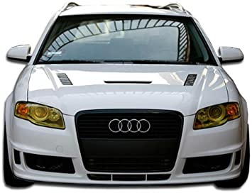 AUDI A4 B7 2005-2008 Front Bumper Cover with holes for headlight washers