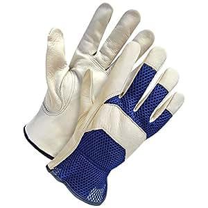 Pixpri goatskin leather gardening gloves for Gardening gloves amazon