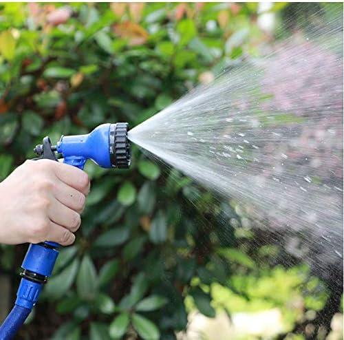 FEJK Gartenschlauch Erweiterbare Magie Flexibel zum Bewässern mit Spritzpistole Gartenauto-Wasserrohrschläuche Bewässern 75Ft