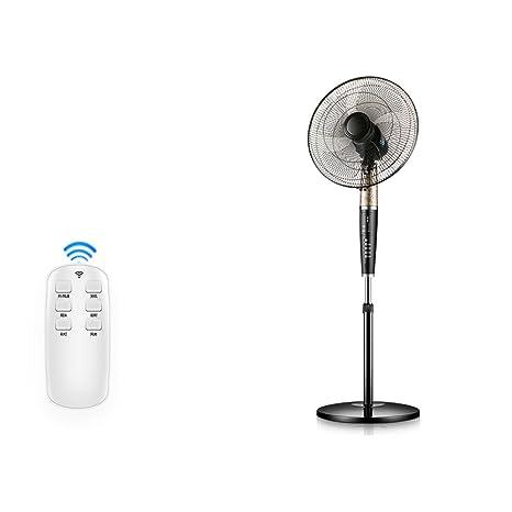 KMMF fenshan Ventilador eléctrico Inicio Silencioso Control Remoto Ventilador de Piso Temporización Ocho Ajuste del Engranaje Ventilador Inteligente portátil: Amazon ...