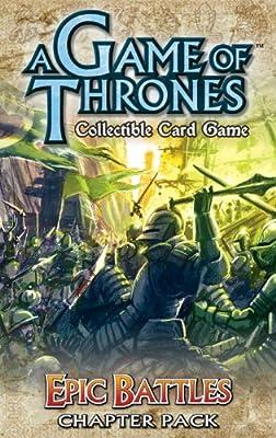 A Game of Thrones Card Game: Epic Battles Chapter Pack: Amazon.es: Fantasy Flight Games: Libros en idiomas extranjeros
