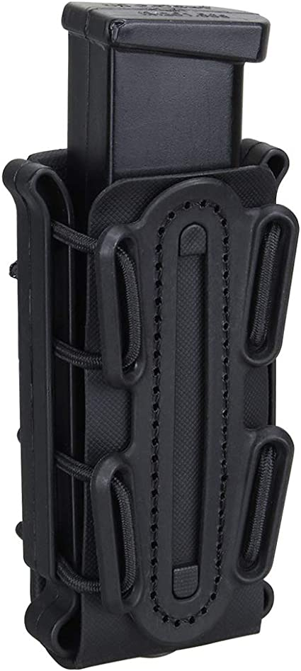 Scorpion Soft Shell Pistol Magazine Holster Pouch Tactical 9mm Assault Mag Case